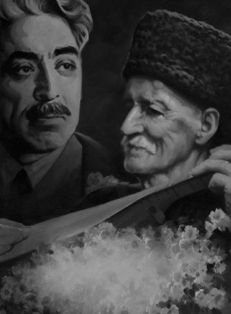 """""""Öləndə qartaltək zirvədə qalmaq Dədə qərarıymış, Ay Dədə Şəmşir"""""""