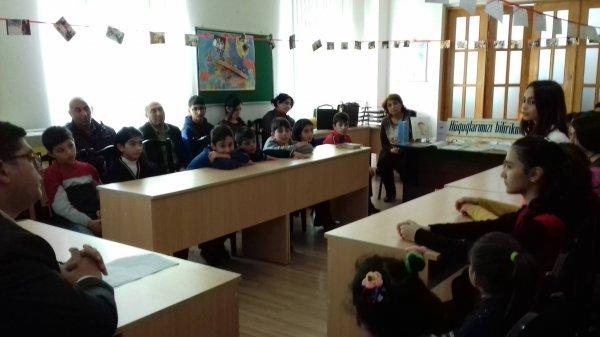 """""""Uşaq hüquqları aylığı"""" ilə əlaqədar tədbirlər keçirilib"""