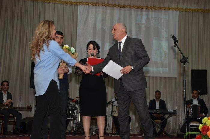 Tarzən Yaşar Xəlilovun 70 illik yubiley tədbiri keçirilib