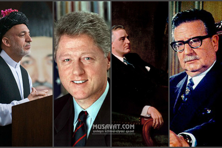 """3 noyabrda başına """"şahlıq quşu"""" qonanlar – Ruzvelt, Klinton, Alyende, Kərzay..."""