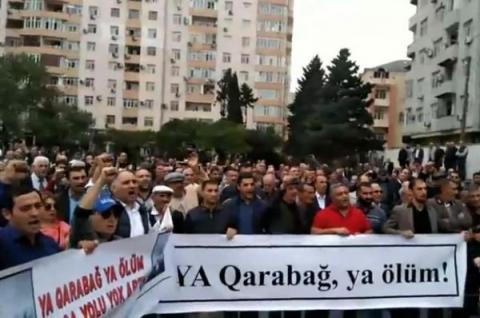 Qarabağ Komitəsinin piketinə də icazə verilmədi