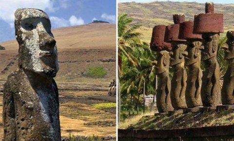 Pasxa adasındakı nəhəng daş heykəllərin sirri açıldı - ŞƏKİLLƏR