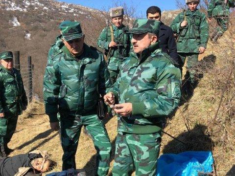 Azərbaycan-İran sərhəddində atışma - Bir nəfər öldürüldü /ŞƏKİLLƏR