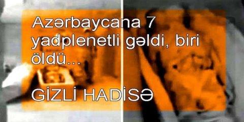 Azərbaycana 7 yadplanetli gəlib, biri Qobustanda ölüb? - VİDEO