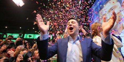 Vladimir Zelenski Ukraynanın yeni prezidentidir