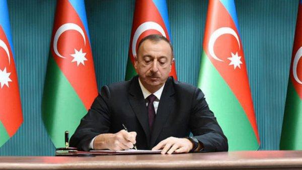 İlham Əliyev 2 fərman imzaladı