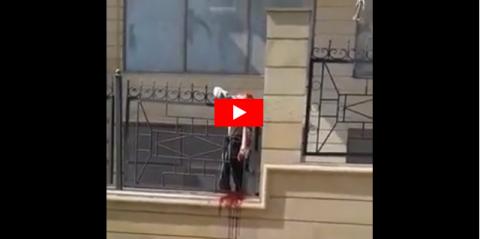 Azərbaycanda dəhşətli ölüm hadisəsi: Başı bədənindən ayrıldı – VİDEO+18