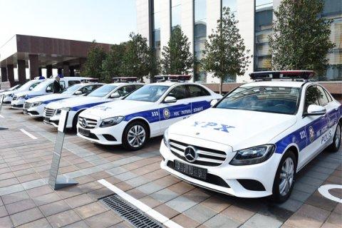 Yol polislərimizə yeni formalar verildi- ŞƏKİLLƏR