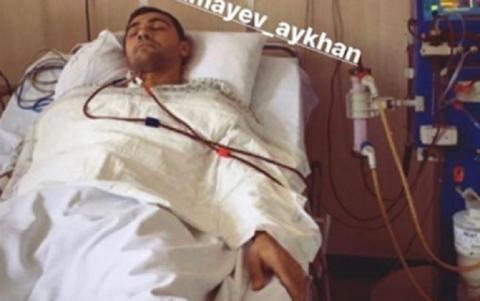 Məşhur idmançımız xəstəxanaya yerləşdirildi - ŞƏKİL