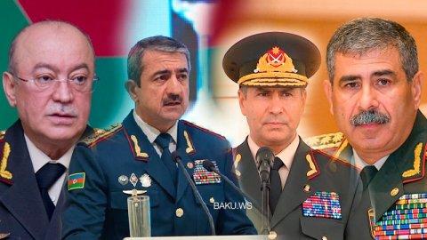 Azərbaycanın general-polkovnikləri - SİYAHI