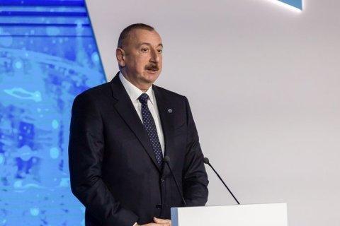 İlham Əliyev Sumqayıtın 70 illiyi tədbirində iştirak edib