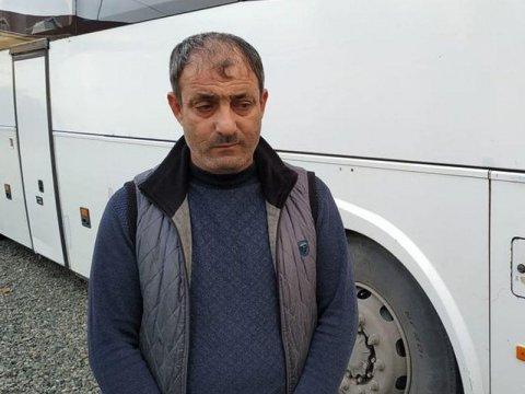 Bakıdan Astaraya sərnişinləri narkoman sürücü daşıyırmış - ŞƏKİL