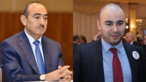 Əli Həsənovun oğlu işdən azad edildi