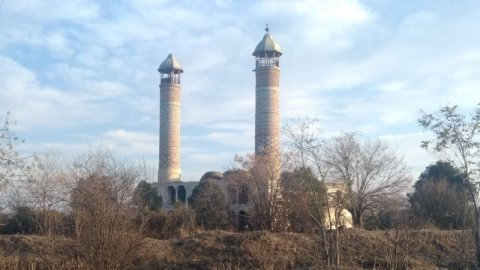 Düşmən tapdağında olan Ağdam məscidindən ən son ŞƏKİLLƏR