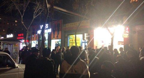 Sumqayıtda 4 min borcu olduğu mağazaya od vurmaq istəyən şəxs saxlanıldı