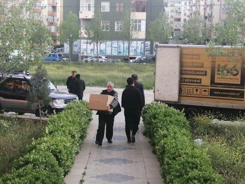 """""""Park City"""" tikinti şirkəti aztəminatlı ailələrə ərzaq yardımı etdi"""