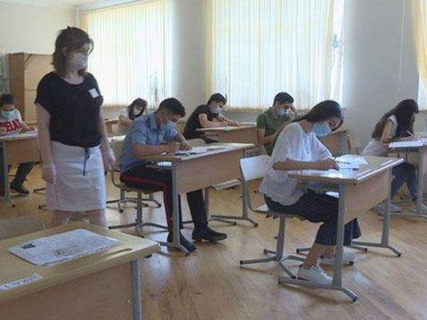 Azərbaycanda 18 şəhər və rayonda buraxılış imtahanı keçirilir