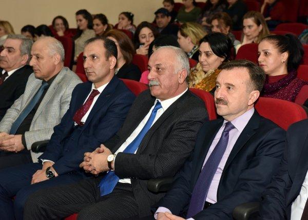 Azərbaycan Xalq Cümhuriyyətinin 100 lliyi ilə əlaqədar tədbir keçirilib- FOTOLAR