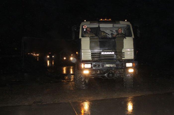 Azərbaycan Ordusunun keçirdiyi irimiqyaslı təlimlər davam edir (VİDEO)