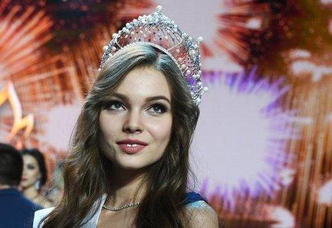 18 yaşlı qız Rusiyanın ən gözəli seçildi - Video