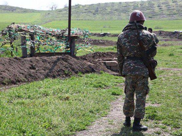 Azərbaycan torpağında erməni hərbçi öldü