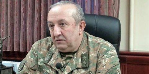Erməni general Qazaxıstanda pərt oldu:
