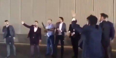 Bakıda tuneli bağlayıb şampan partladan gənclər tutuldu - VİDEO
