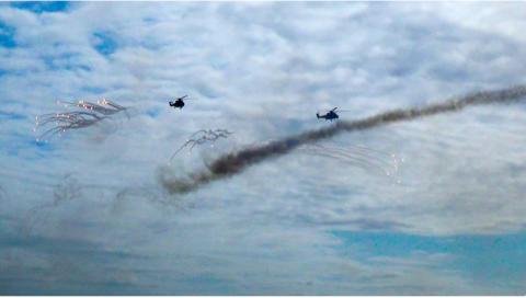 Hərbi Hava Qüvvələri hərəkətə keçdi