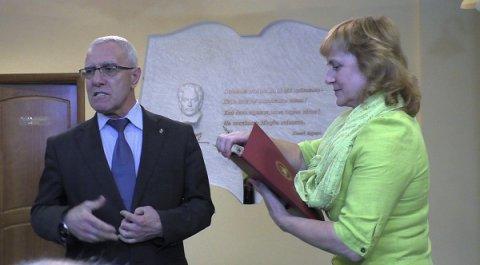 Məmməd Arazın 85 illik yubileyi S.Vurğun adına Kiyev Şəhər Kitabxanasında qeyd olundu