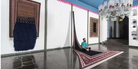 Azərbaycan xalçalarından ilham alan bakılı sənətkarın heyrətamiz dizaynları İran mətbuatında - ŞƏKİLLƏR