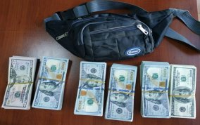 Gürcüstan vətəndaşı 53 min dollarla sərhədi keçməyə çalışdı