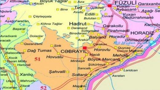 Cəbrayıl rayonunun neçə faizi azad olunub? (AÇIQLAMA)