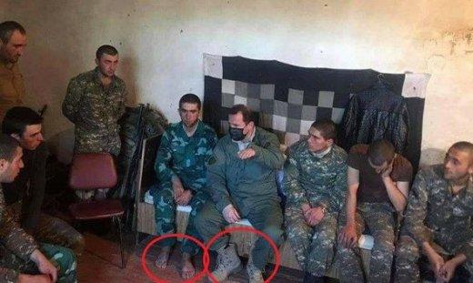 Ermənistan ordusunun əsl üzünü açan bir ŞƏKİL