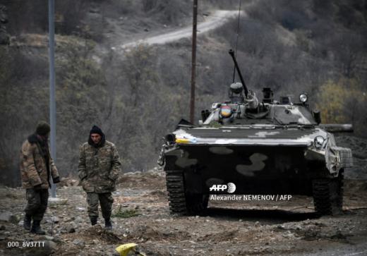 Erməni ordusu Xankəndidən çıxarılır - ŞƏKİL