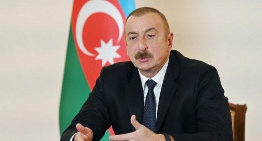 """İlham Əliyev: """"Endir o bayrağı dirəkdən, bük, qoy cibinə, get başqa ölkənin tərkibində yaşa"""""""