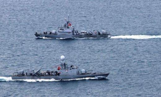 Türk donanması döyüş vəziyyətinə gətirildi