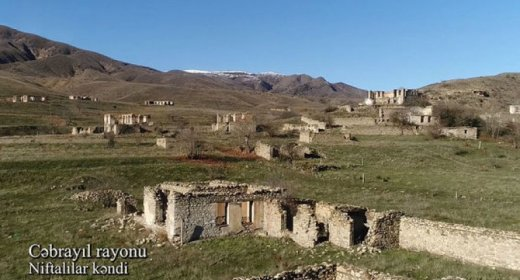 İşğaldan azad edilmiş Cəbrayılın daha bir kəndindən görüntülər - VİDEO