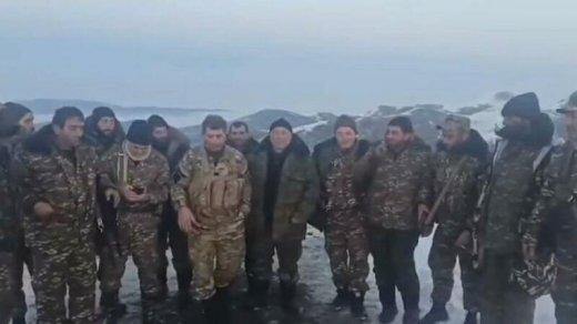 Ermənilərdən etiraf: Hadrutda gizlənən erməni terrorçular var - VİDEO
