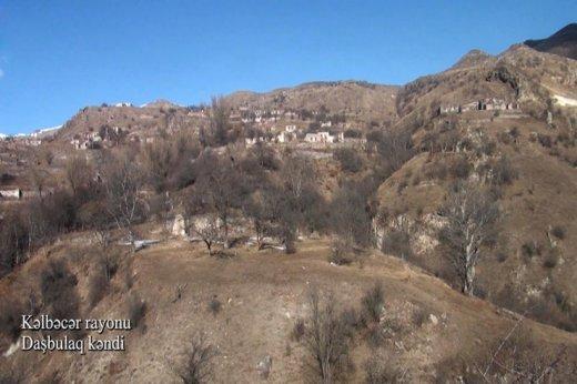 Kəlbəcərin viran qalmış Daşbulaq kəndi - VİDEO