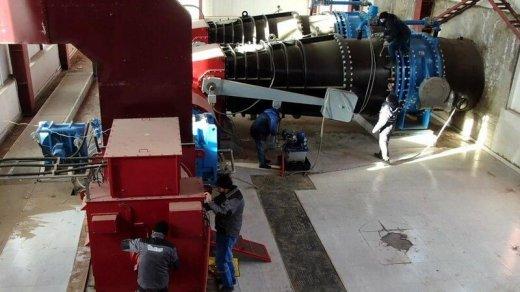 Laçındakı stansiya yenidən qurulur - VİDEO