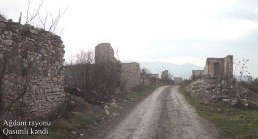 Ağdamın Qasımlı kəndindən görüntülər - VİDEO