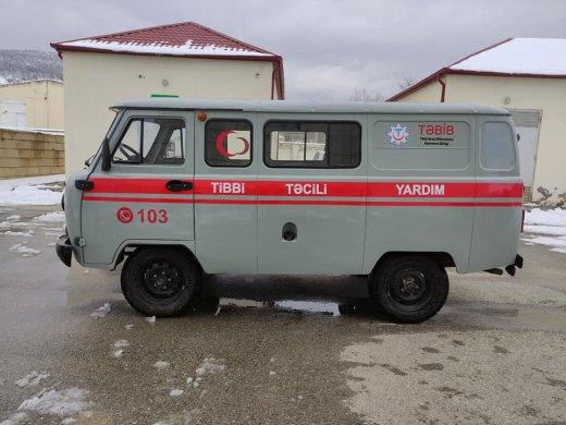 Deputat müraciət etdi, Xızı Mərkəzi Xəstəxanasına təcili tibbi yardım maşını ayrıldı- Şəkil