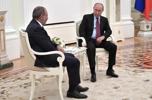 Putinin Paşinyanın atasının adını səhv deməsi gündəm oldu — VİDEO