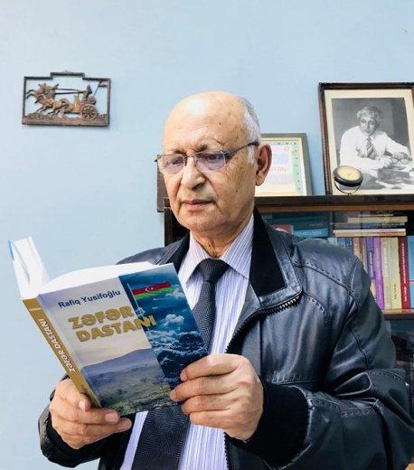 """Rafiq Yusifoğlu """"Zəfər dastanı"""" yazdı"""