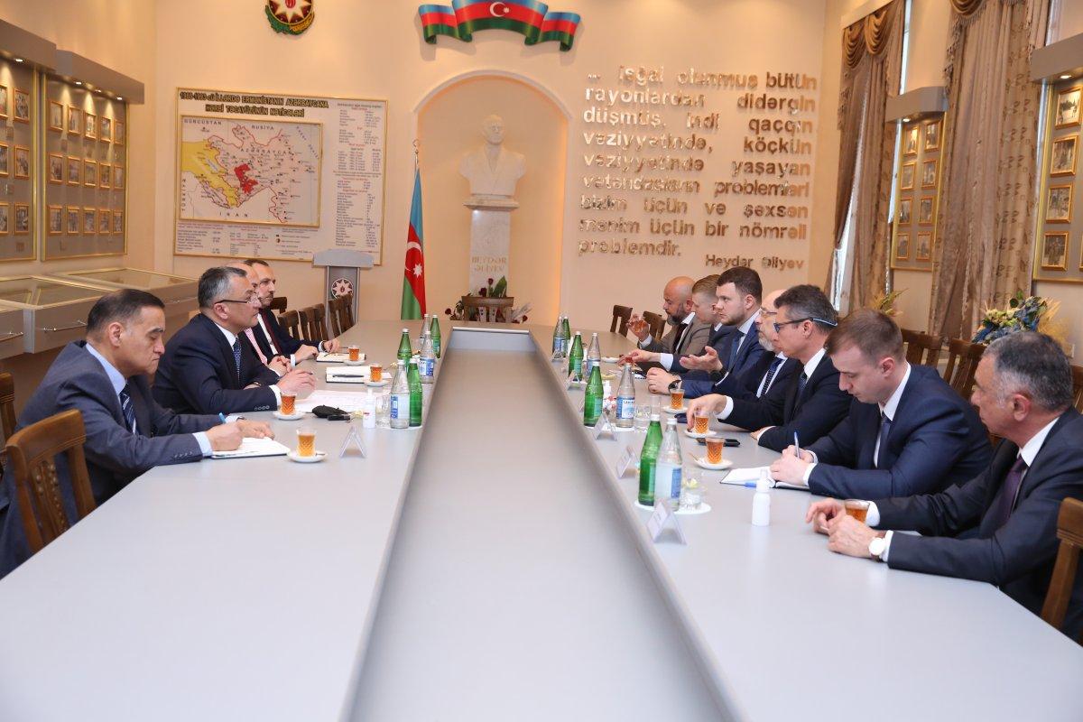 """""""Qaçqınkom""""da Ukraynanın Baş nazirinin müavini ilə görüş keçirilib"""