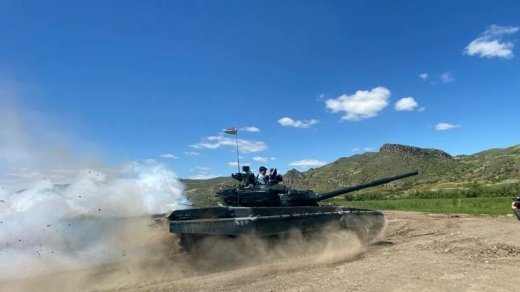 Ermənistandan əldə olunan hərbi qənimətlər Qubadlıda istifadə edilir - ŞƏKİL