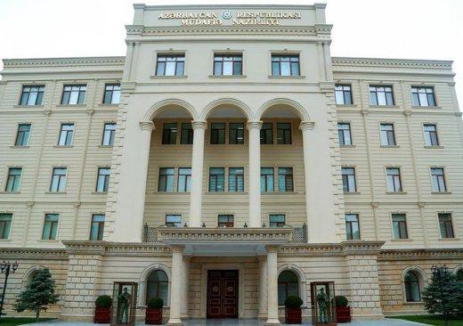 Ermənistan 3 istiqamətdə atəşkəsi pozub - Müdafiə Nazirliyi
