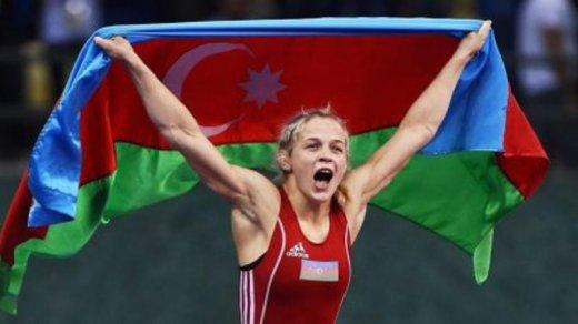 Mariya Stadnik qızıl medal qazandı