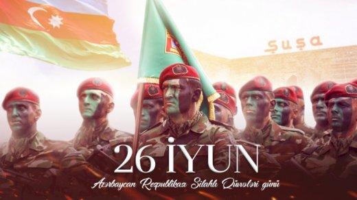 Bu gün Azərbaycan Silahlı Qüvvələrinin yaranmasından 103 il ötür