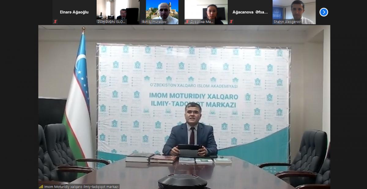 İlahiyyat İnstitutunda Özbəkistan Beynəlxalq İslam Akademiyasının silsilə mühazirələri başlayıb